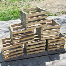 best rustic wood crates products on wanelo