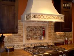interior stylish stylish copper kitchen backsplash iron chef