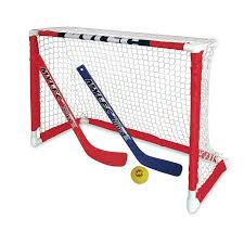 Floor Hockey Pictures by Mylec Mini Knee Hockey Goal Set Indoor Sports Kid Netting 2 Sticks