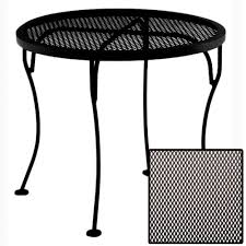 Ow Lee San Cristobal by Ow Lee Micro Mesh Round Side Table 24 Mmst