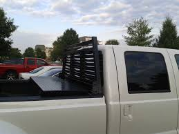Ford F250 Truck Tool Box - will a toolbox and headache rack with full rails make my bed