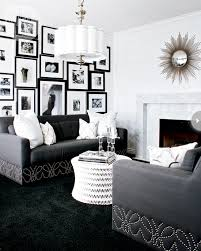 10 living rooms we love black carpet hollywood glamour and tuxedo