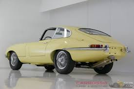 jaguar e type series 1 coupe 1963 yellow series 1 for sale dyler