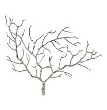 edwin metal tree branch modern wall sculpture kathy kuo home