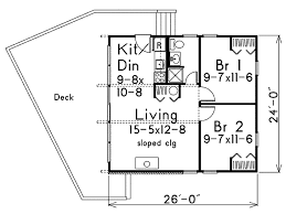 cape floor plans contemporary style house plan 2 beds 1 00 baths 624 sq ft plan