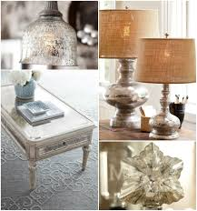 Accessorize Your End Table With Silver Vases And Votives by 17 Apart How To Diy Antiqued Mercury Mirror Glass