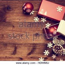 christmas vintage background with christmas decorations vintage