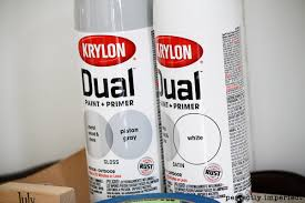 how to paint with krylon dual paint perfectly imperfect blog
