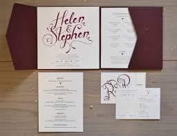 wedding invitations burgundy burgundy wedding invitations boots creative