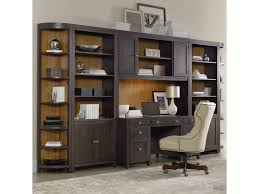 credenza computer desk hooker furniture south park home office wall unit with computer