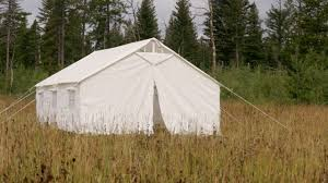 wall tent amazon com 13 x 16 canvas wall tent angle kit sports outdoors