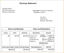 Payroll Statement Template by 8 Pay Stub Template Pdf Timeline Template