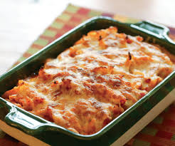 pasta bake recipes baked penne with tomato rosemary and three cheeses recipe