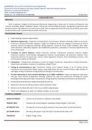 Electronic Engineering Resume Sample by Sample Resume Electrical Estimation Engineer Resume Ixiplay Free