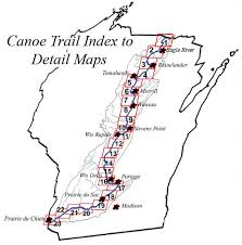 Wisconsin Rivers images Wis river canoe trail jpg