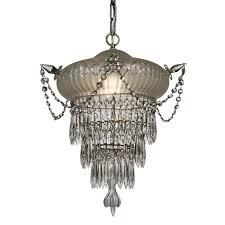 unusual antique wedding cake chandelier c 1920s preservation