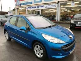 blue peugeot for sale used peugeot 207 se blue cars for sale motors co uk