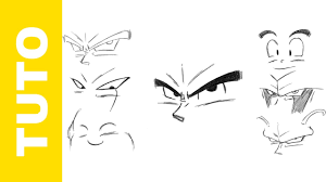 draw dragon ball eyes tutorial