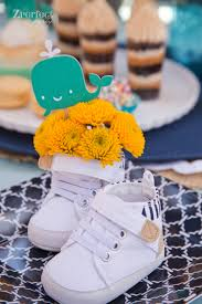 Boy Baby Shower Centerpieces by Party Ahoy It U0027s A Boy Nautical Baby Shower Creative Juice