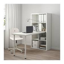 Kallax Schreibtischkombination Weiß Blau Ikea Kallax Bureau