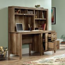 The Styling Hutch Dakota Pass Computer Desk With Hutch 420410 Sauder