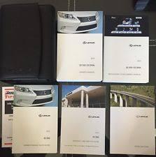 lexus is owners manual lexus es350 owners manual ebay