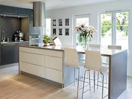 kitchen island with table extension kitchen island ideas modern brucall pertaining to modern kitchen