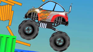 monster truck kids videos monster truck videos for kids trucks cartoon game play