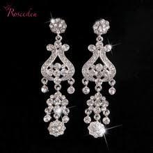 Chandelier Earrings Bridal Popular Chandelier Earrings Wedding Buy Cheap Chandelier Earrings