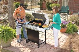 Char Broil Patio Bistro Gas Grill Review by Char Broil Classic 480 40000 Btu 4 Burner Gas Grill With Side Burner