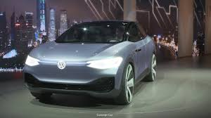 volkswagen electric concept volkswagen electric suv based on id crozz concept coming to us in