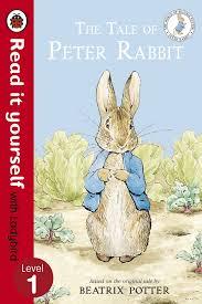 tale peter rabbit ladybird level 1