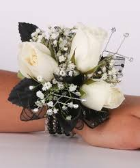 white corsages for prom wrist corsages for prom fashion dresses
