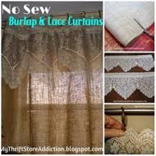 Smocked Burlap Curtains Get The Look Smocked Burlap Curtains Burlap Window And Window