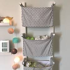 Hanging Changing Table Organizer Nursery Hanging Storage Bins Room Storage