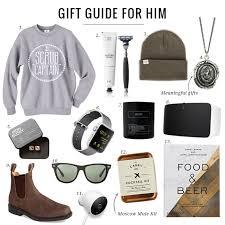 gift for him gift guide for him jillian harris
