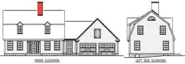 Gambrel House Floor Plans T A Greenleaf Jefferson Mill Design Co Gambrel 1765
