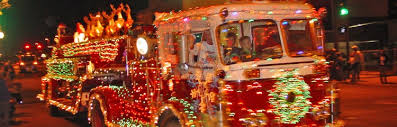 this weekend parade of lights events u0026 street closures