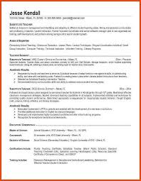 good resume objectives for teachers good resume objective