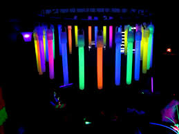 simply creative insanity totally cool neon glow party