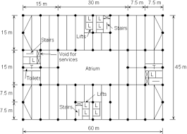 Cannon House Office Building Floor Plan Multi Storey Office Buildings Steelconstruction Info