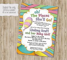 oh the places you ll go baby shower oh the places you ll go invitation oh the places