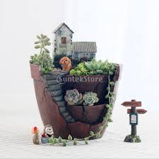 Diy Garden Planters by Resin Sky Garden Cacti Succulent Plant Flower Bed Pot Box Garden