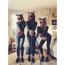 3 Blind Mice Costume Three Blind Mice Halloween Costume Creative Pinterest