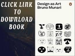 design as art bruno munari design as art penguin modern classics youtube