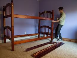 update a bunk bed with paint and drapery panels hgtv