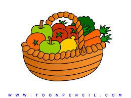 fruit and vegetable basket fruit vegetables and basket clipart clip library