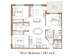 3 bedroom home plans blueprint of a 3 bedroom home