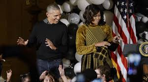barack and michelle obama adorably dance to u0027thriller u0027 at white