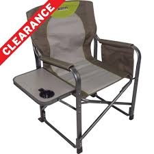 Folding Directors Chair With Side Table Wanderer Directors Chair With Side Table Ebay